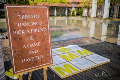 Fun games at Shaili and Mahesh's wedding.