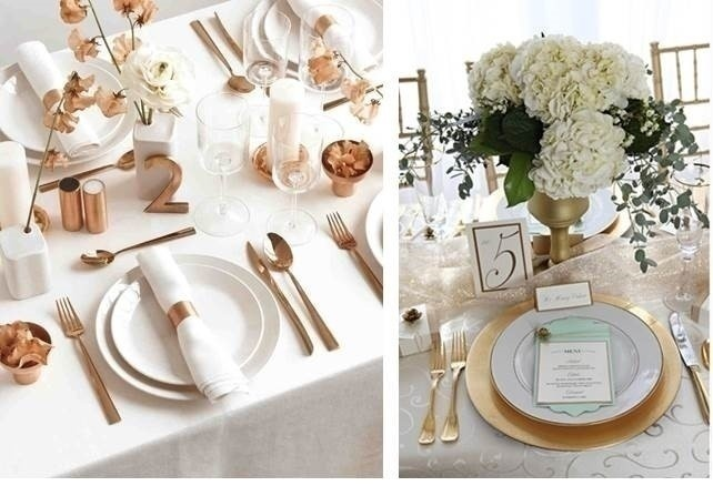 NEUTRAL WEDDING TABLE SETTINGS