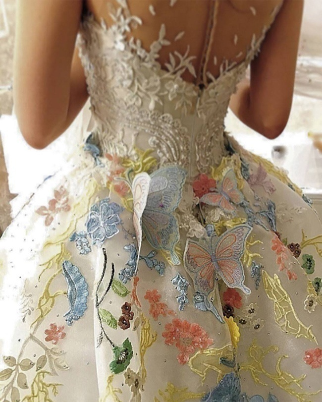 Butterflies and Embroideries