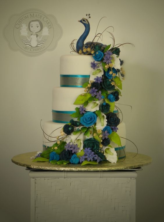 Latest wedding cake designs that you can customize for your