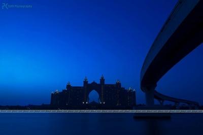 Hotel Atlantis, the wedding venue of the couple