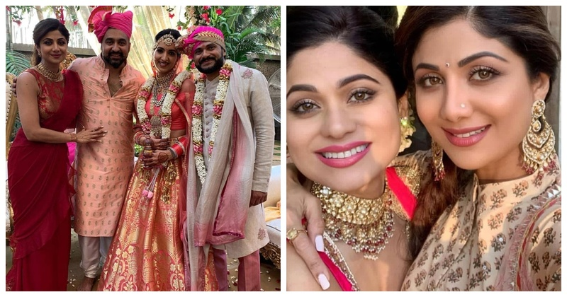 Shilpa Shetty Kundra's sister in law just got married and the pictures will melt you!