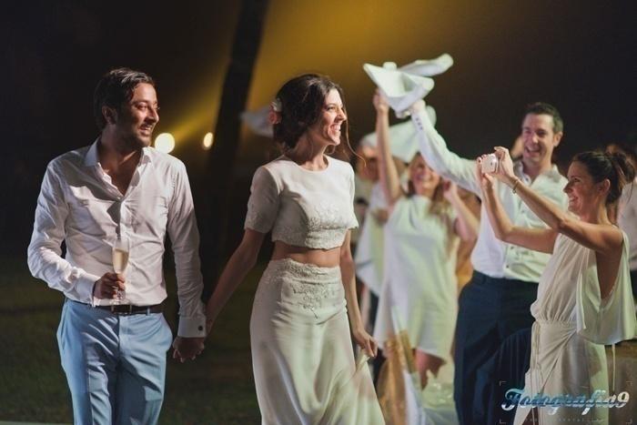 Neil and Jessica's Minimalistic Wedding held at The Leela, Goa