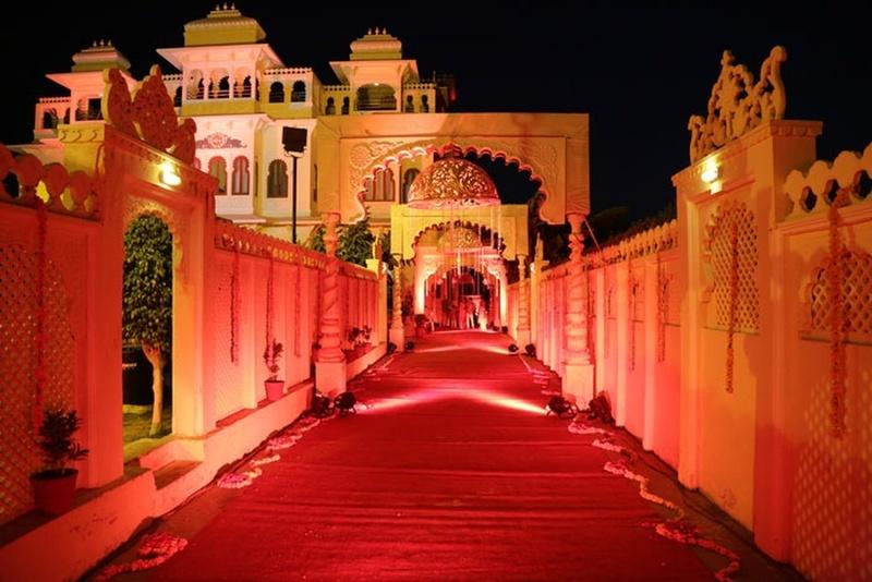 Chunda Palace, Haridas Ji Ki Magri, Udaipur