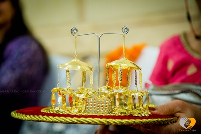 Faux Gold Kaliras for the bride