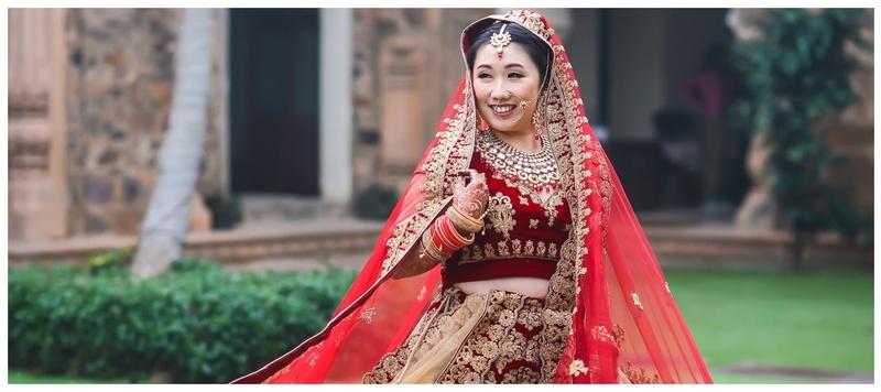 Gaurav & Glacia  Neemrana : This beautiful cross culture wedding held at Tijara Fort is making our hearts flutter!