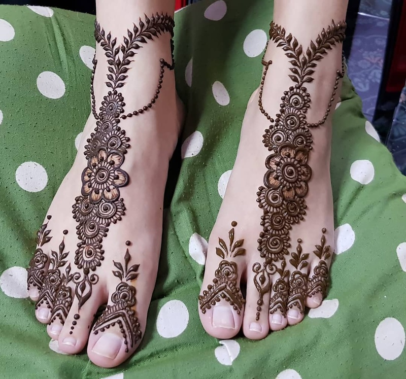 50 Leg Mehndi Design Images To Check Out Before Your Wedding Blog
