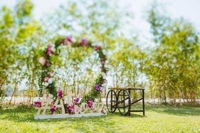 Pretty wedding decor