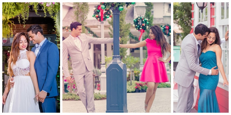 This beautiful pre-wedding shoot has the coolest couple outfit ideas!