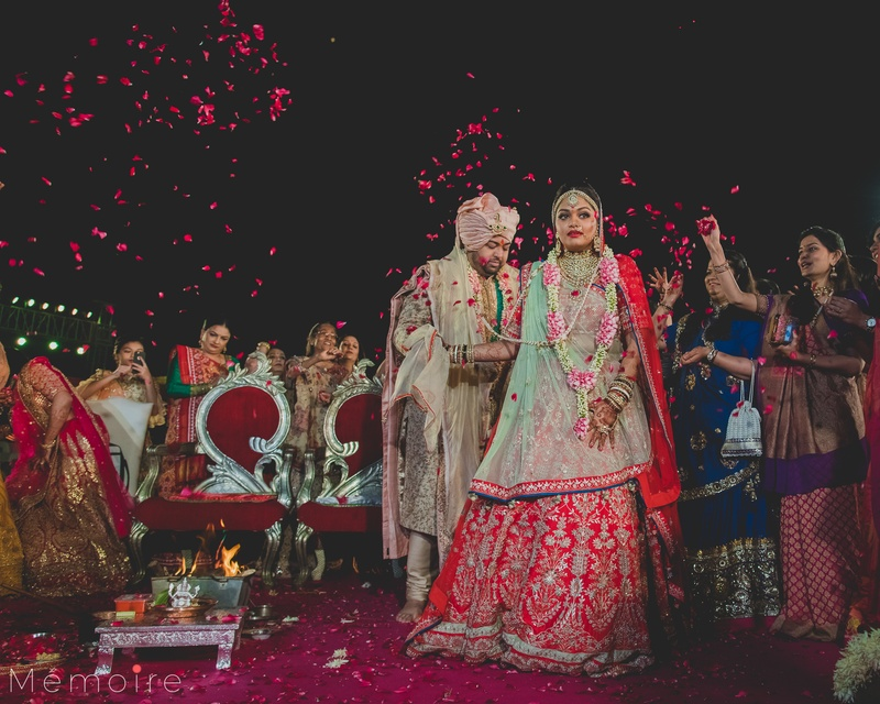 Kunal & Aekta Nadiad : This wedding is a huge inspiration for decor and is nothing short of royalty.