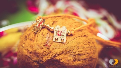 South Indian style gold mangalsutra