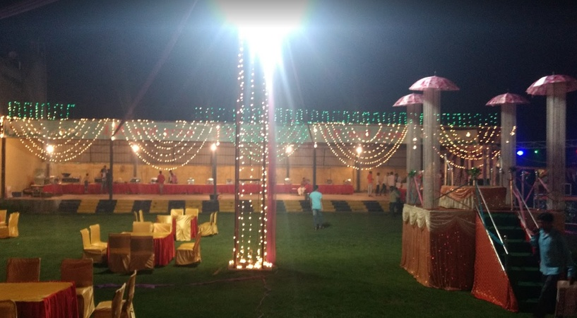 J P Farm House & Marriage Hall Nai Basti Dundahera Ghaziabad - Wedding Lawn