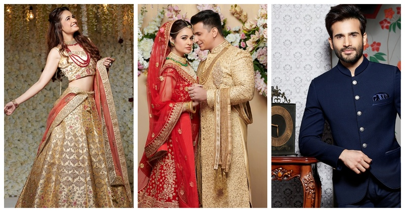 Manyavar's 2019 wedding collection is out and here's a glimpse of it from their Dabboo Ratnani shoot!