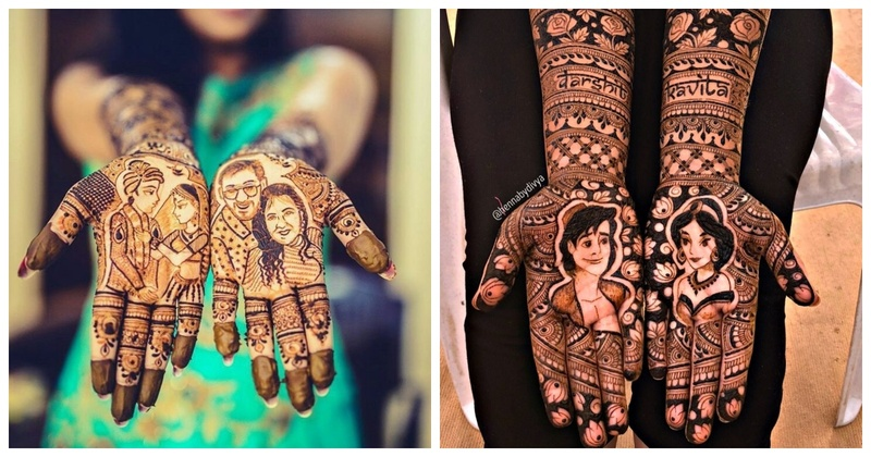 Portrait Mehendi: The Trend that will rule for years to come!