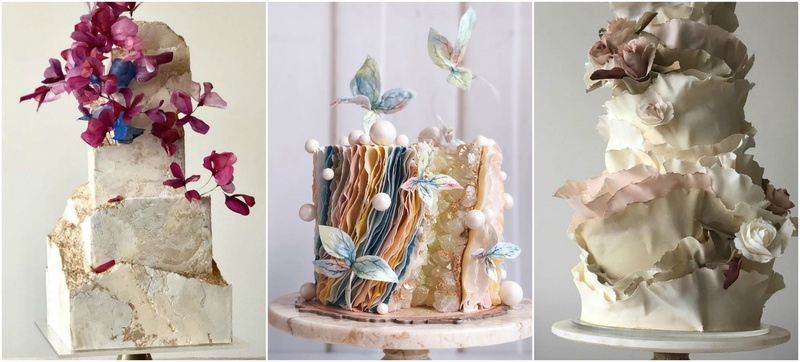 8 Beautiful Out-of-the-box Wedding Cake Ideas for 2020