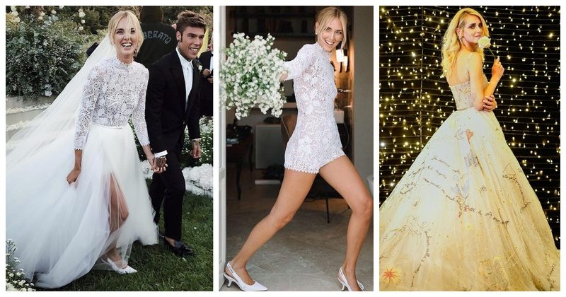 Chiara Ferragni, the Italian fashionista recently got married and all her wedding dresses are totally drool-worthy!