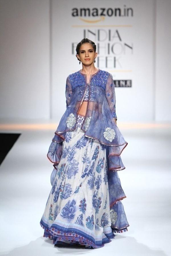 Bridal lehenga collection at Lakme India Fashion Week