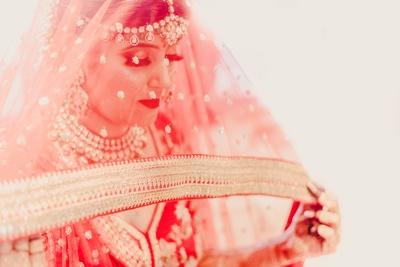 A bridal veil shot is a must!
