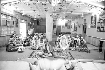 Wedding ceremony at the Holy Gurudwara