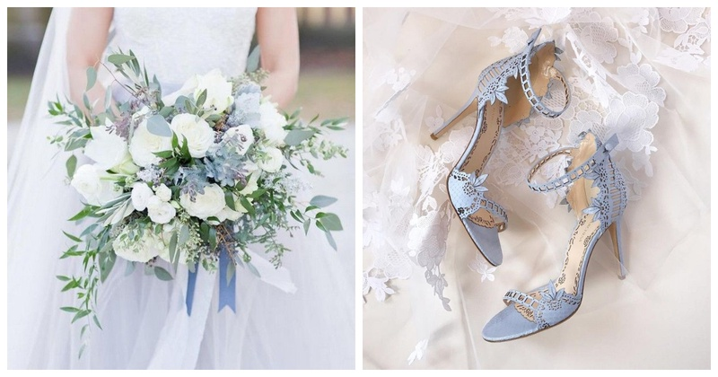 5 'Something Blue' for Your White Wedding