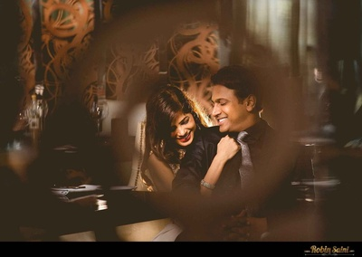 A pre-wedding shoot with high style and glamour quotient