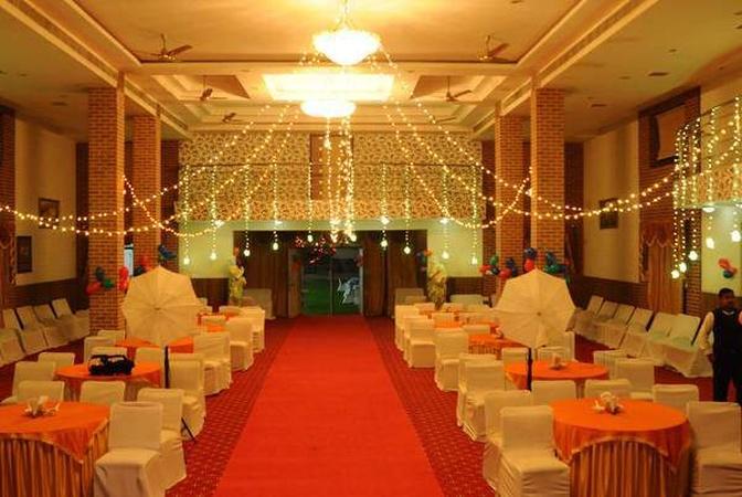 Hotel Palak Paradise Jhotwara Jaipur - Banquet Hall