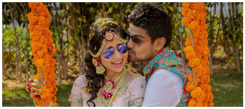 Gaurav & Shreyasi Neemrana : This adorable couple's Rajasthani Carnival wedding is giving us major goals!