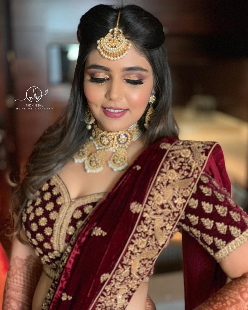 20 hairstyles for lehenga you can try on your wedding day