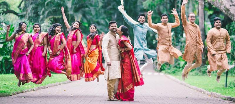 Ashwin & Pratibha Bangalore : Cross-Cultural, Hindu-Christian Wedding Held at Taj West End, Bangalore