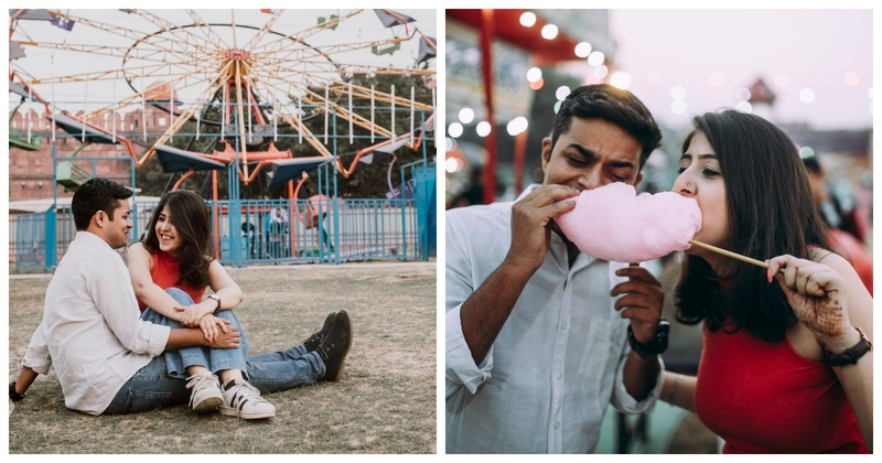 This Pre-Wedding Shoot at a Mela will Bring Back some Cherished Memories