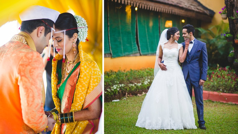 Bageshree & Jeff's Triple Whammy Cross-Cultural Indian Wedding
