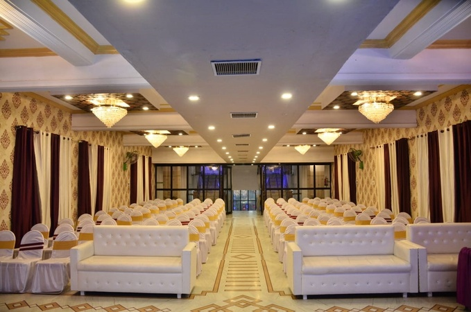 Crown Palace & Banquet Hall Vikas Nagar Lucknow - Banquet Hall