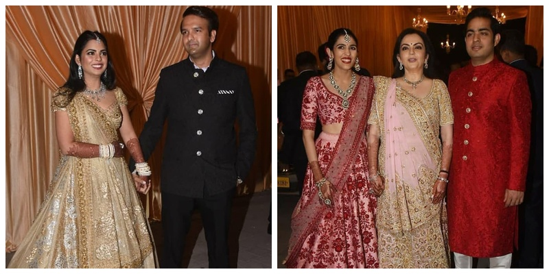 Isha Ambani and Anand Piramal's Reception was a star-studded affair with A.R. Rehman also performing in it!!