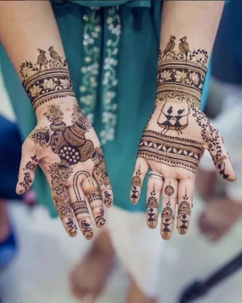 Simple Mehndi Design For Brides Who Like To Keep It Minimal Real Wedding Stories Wedding Blog,Affordable Graphic Design