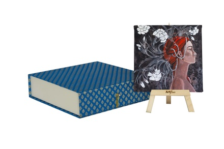 Artflute- Designs of a thinking mind Painting With Gift Box