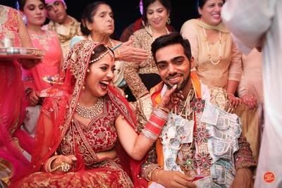 Candid couple photography by Big Little Weddings.