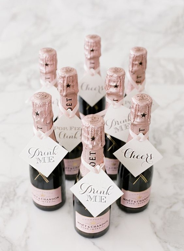 Signature Drinks as Wedding Gift