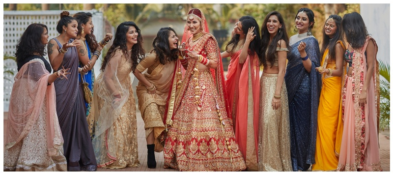 Dhruwin & Svetana Mumbai : This fiery red head bride is making heads turn and for all right reasons!