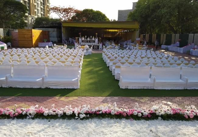 Krushna Sundar Lawns  Erandwane Pune - Wedding Lawn