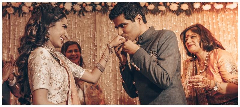 Rishi & Aakanksha Delhi : Aakanksha and Rishi's intimate Delhi wedding is setting goals for everyone!