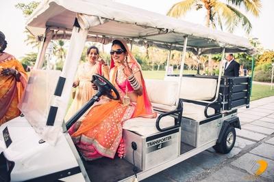 Bridal entry swag. Entry ideas for bride