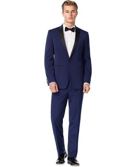 A Midnight Blue Men's Tuxedo – For the Modern Royal Prince