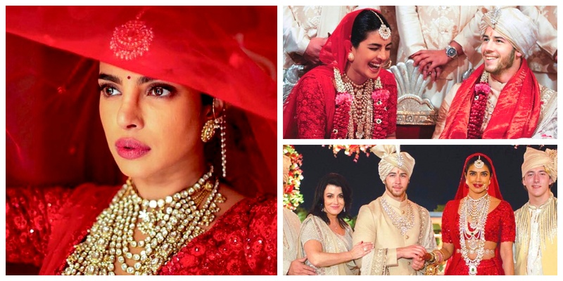 These Hindu wedding ceremony pictures of Priyanka Chopra and Nick Jonas are beyond beautiful!