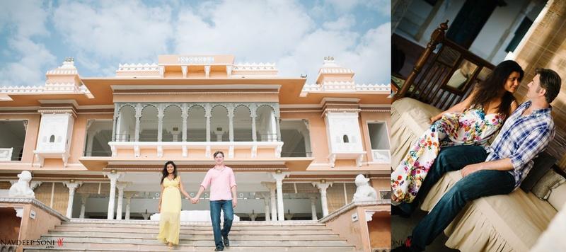 Jurgen  & Edna Udaipur : Chic Christian Destination Wedding held at Fategarh Udaipur