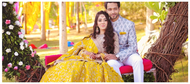 Vaibhav & Nikita Udaipur : Nikita and Vaibhav's Palace wedding is setting major outfit and decor goals!