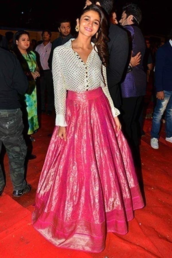 Bridal Wear Inspirations From The Cute And Bubbly Alia Bhatt Blog