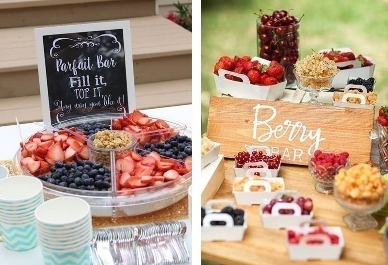 8 wedding food bar ideas that will leave your guests super for Food bar health