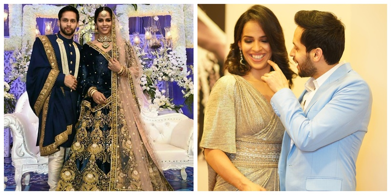 Badminton biggies – Saina Nehwal and Parupalli Kashyap got hitched and here are all the pics & deets!