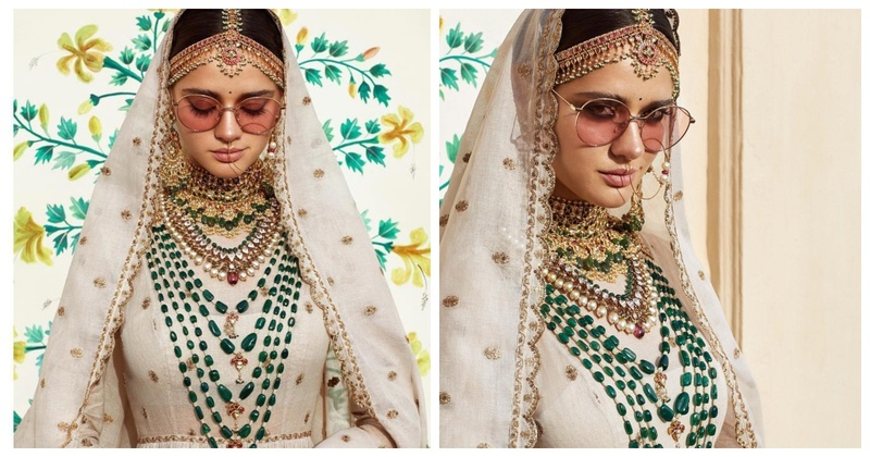 76cab853bbee Sabyasachi's latest collection Fiza is a must-see for all the new-age  brides out there!