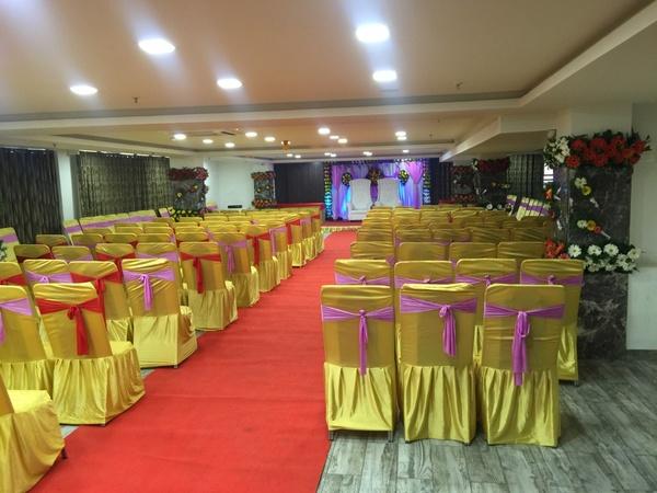 Shagun Hotel Alkapuri Baroda - Banquet Hall
